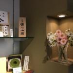 工場の売店のお花